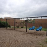 Nashville fun for Families - Fannie Mae Dees Park - all access swings