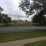 Nashville fun for families - Fannie Mae Dees Park - tennis courts