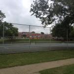 Nashville fun for families - Fannie Mae Dees Park - tennis courts