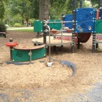 Nashville fun for families - Fannie Mae Dees Park - little kid area 2