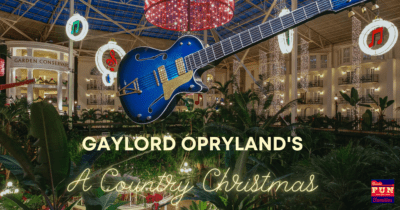 Celebrate A Country Christmas with Gaylord Opryland