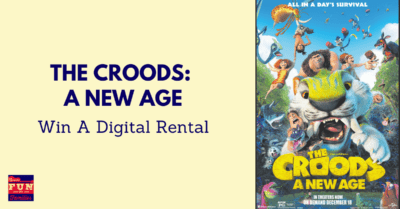 Win a Digital Rental of The Croods: A New Age